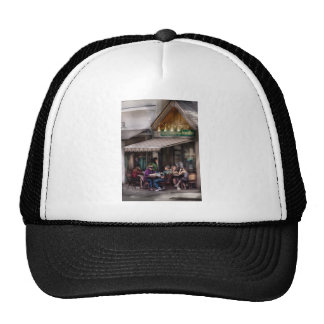 Frente de la tienda - el sushi y los tallarines de gorras