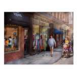 Frente de la tienda - Hoboken, NJ - gente Tarjetas Postales