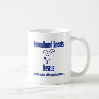 Frente de segunda mano del logotipo de Snoots Taza Clásica