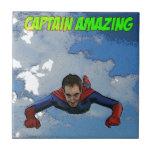 Frente de vuelo de capitán Amazing Teja
