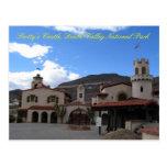 Frente del castillo de Scottys, DVNP Tarjeta Postal
