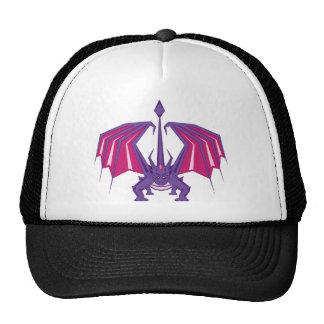 Frente del dragón gorras