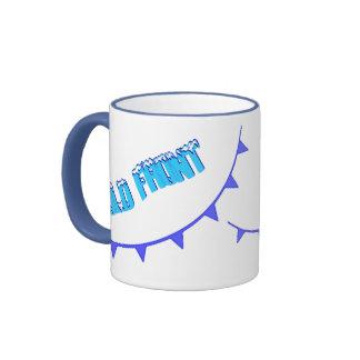 Frente frío taza de café