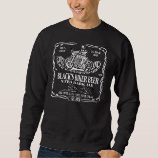 Frente negro de la camiseta de la cerveza del sudaderas encapuchadas