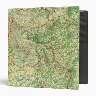 "Frente occidental del mapa carpeta 1 1/2"""