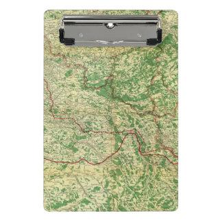 Frente occidental del mapa minicarpeta de pinza