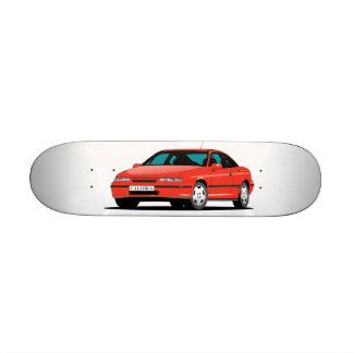 Frente rojo de Opel Calibra Tablas De Patinar