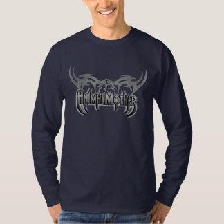 Frente tribal de la camiseta de la cuchilla de la polera
