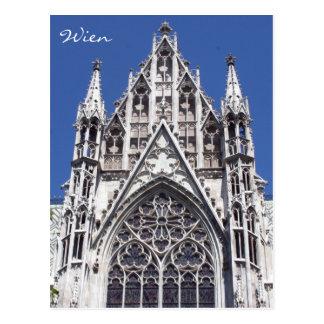 frente votivo de Viena Tarjetas Postales