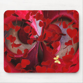 Frenzied Hearts Mousepad2 Mouse Pad