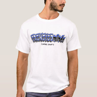 FRENZIEDminds on front in BLUE, CRAZY on back! T-Shirt