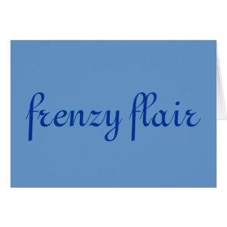 frenzy flair card