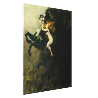 Frenzy of Exultations Canvas Print