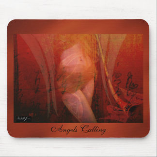 Frequency Intuitive Angel Mouse Pad