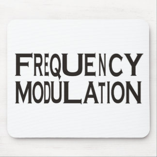Frequency Mouse Pad