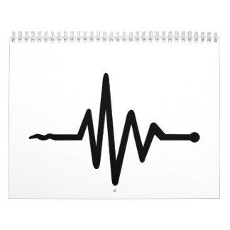 Frequency music calendar