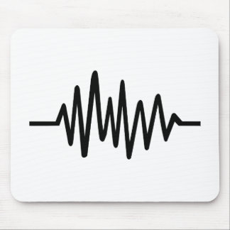 Frequency music pulse mousepads