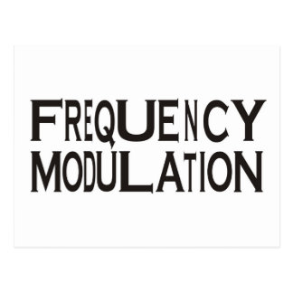 Frequency Postcard