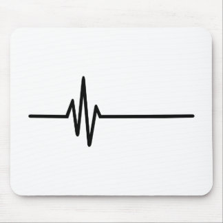 Frequency Pulse Heartbeat Mouse Pad