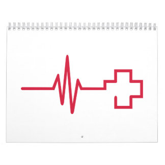 Frequency red cross calendar