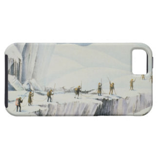 Frequent Appearance of the Ice with Bridges of Sno iPhone SE/5/5s Case