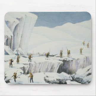 Frequent Appearance of the Ice with Bridges of Sno Mouse Pad