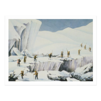 Frequent Appearance of the Ice with Bridges of Sno Postcard