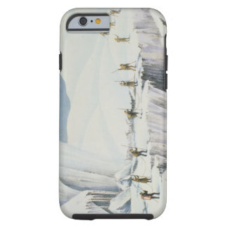 Frequent Appearance of the Ice with Bridges of Sno Tough iPhone 6 Case