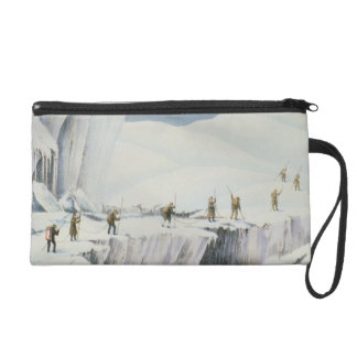 Frequent Appearance of the Ice with Bridges of Sno Wristlet Purse
