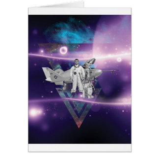 Frequent Flyer by Night Greeting Card