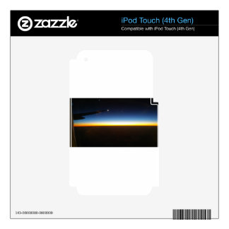 Frequent Flyer Horizontal iPod Touch 4G Decal