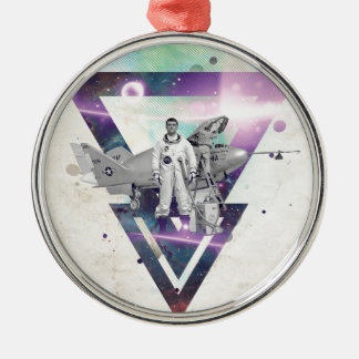 Frequent Flyer Metal Ornament