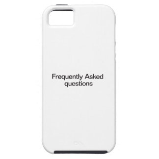 Frequently Asked Questions iPhone SE/5/5s Case