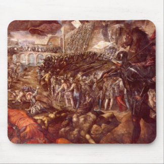 Frerico II Gonzaga conquered Parma by Tintoretto Mouse Pads