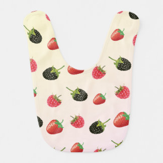 Fresa, Blackberry, frambuesa: fruta deliciosa Baberos De Bebé