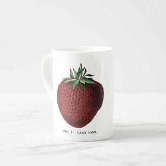 Fresa Botanicals Taza De Porcelana