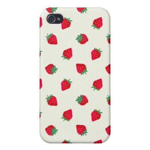 Fresa - compañero iPhone 4/4S carcasas