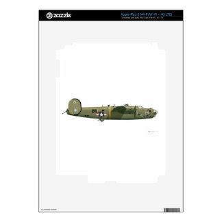 Fresa consolidada del libertador B-24 Pegatinas Skins Para iPad 3