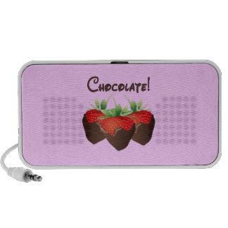 Fresa del chocolate sistema de altavoz