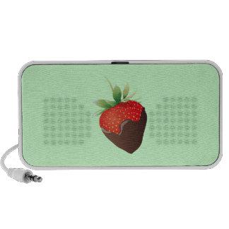 Fresa del chocolate iPod altavoz
