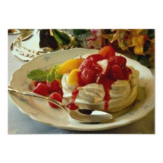 Fresa deliciosa, frambuesa, torta de frutas del comunicado personal