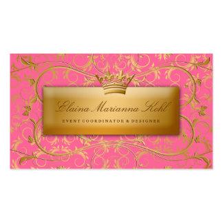 Fresa divina de oro 311 #2 quemada tarjetas de visita