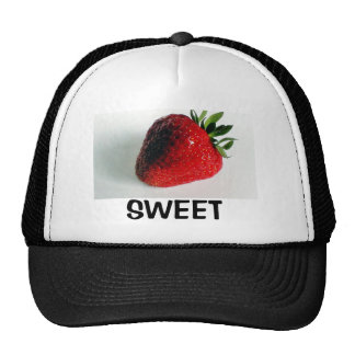 Fresa dulce gorras