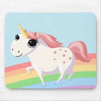 Fresa el unicornio tapetes de raton