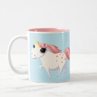 Fresa el unicornio tazas