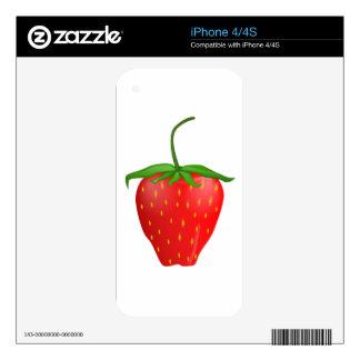 Fresa en productos de calidad iPhone 4S skin