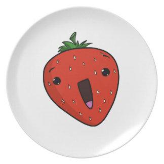 Fresa exaltada (placa) platos