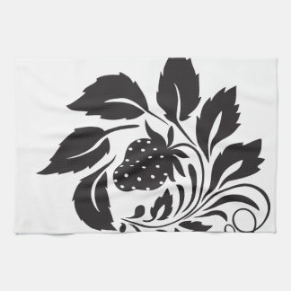 fresa, naturaleza, extracto, árboles, follaje toalla de mano