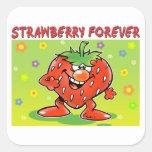 Fresa para siempre etiquetas
