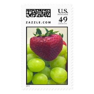 Fresa y algunas uvas envio